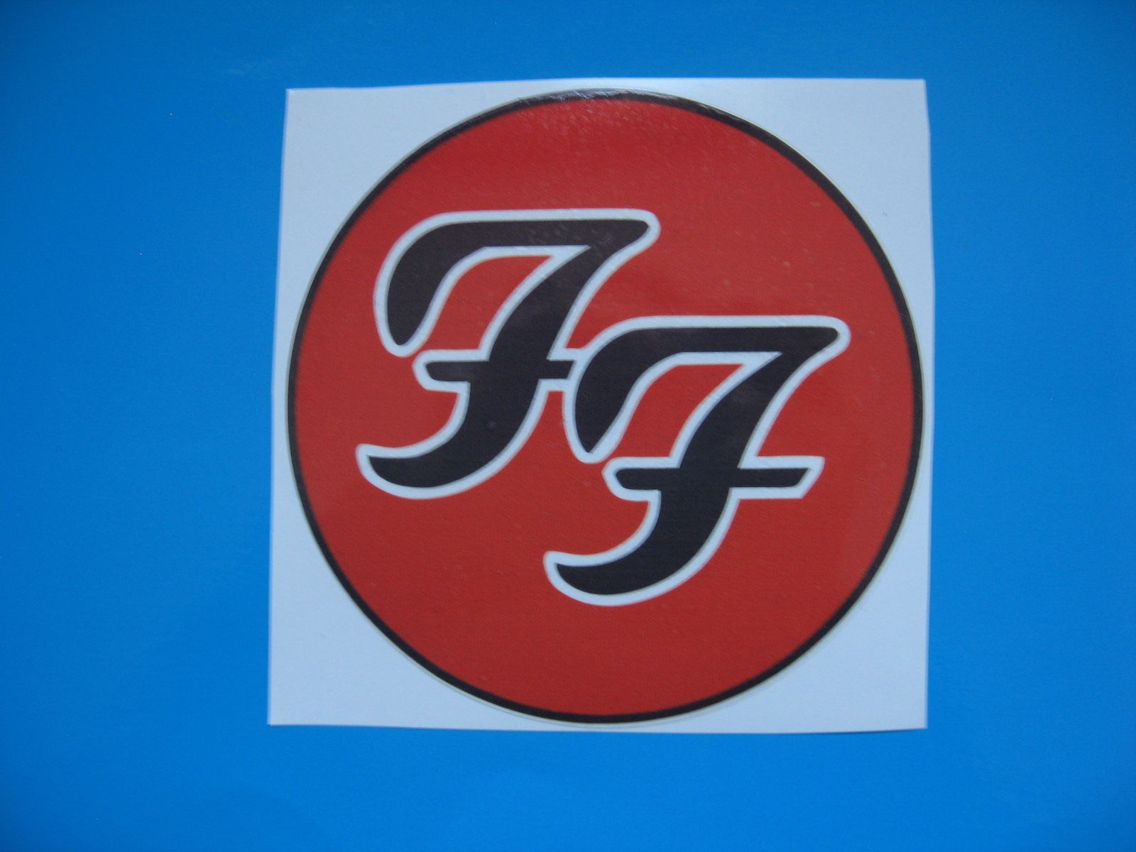 Foo Fighters Car Bumper Sticker Stickerbomb Bomb Decal Electric