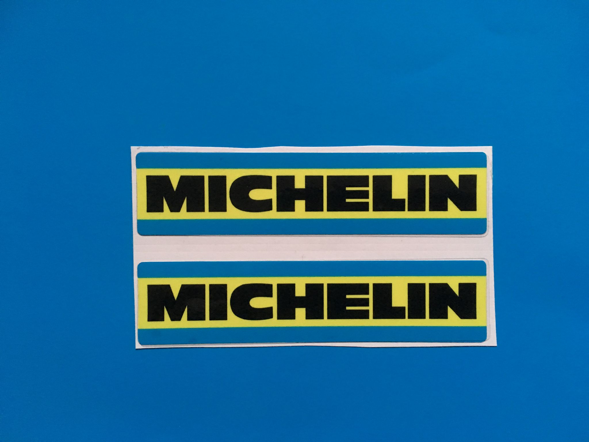 Michelin 70 S 80 S Style Racing Amp Rally Car Sticker Decal X2