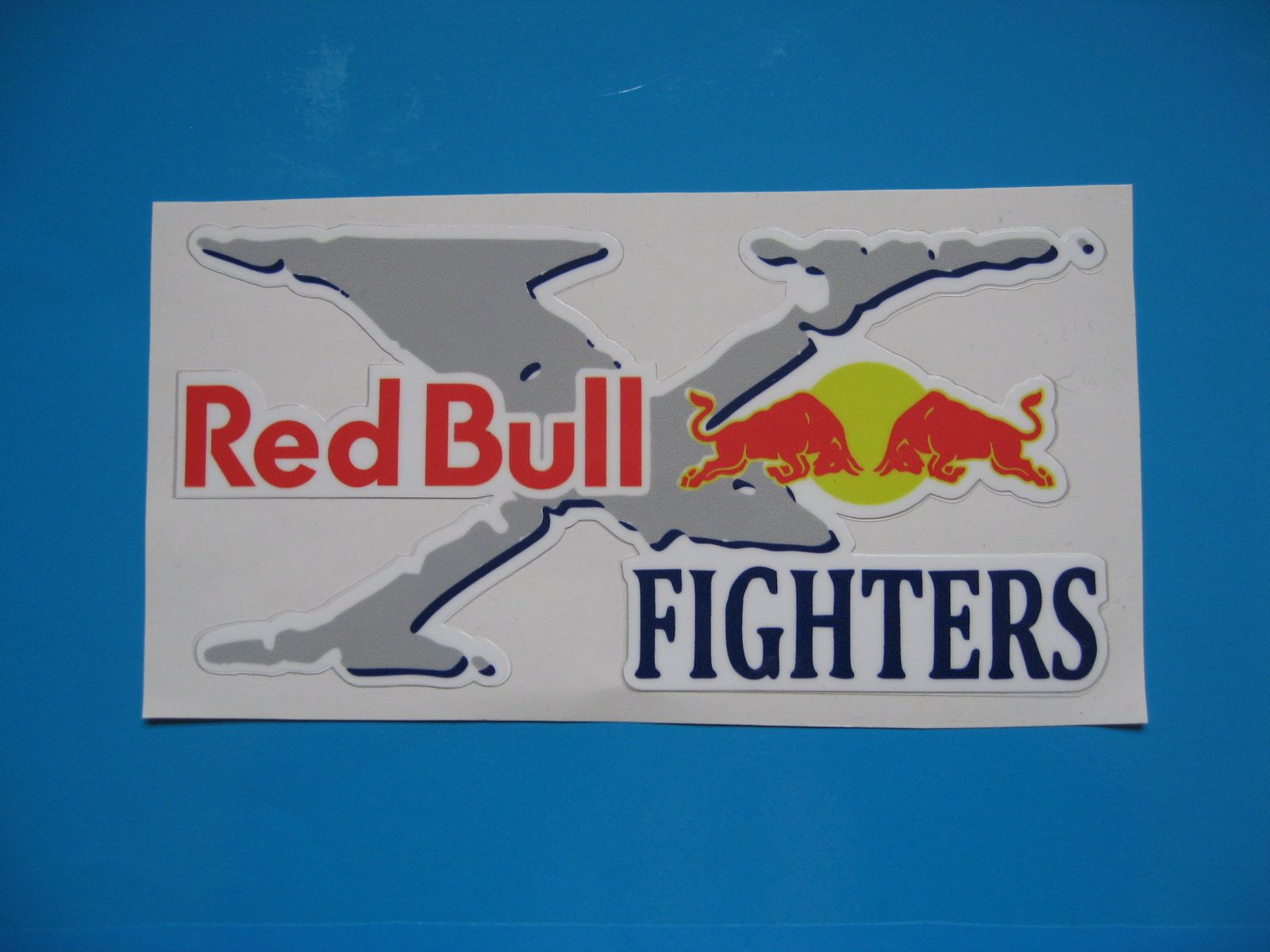 Red bull x fighters stickers decals x 2